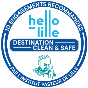 Logo Charte Sanitaire Hello Lille