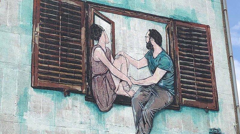 Art mural de Lille Grand Palais à Moulins - Lille
