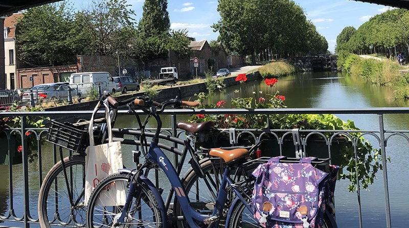Roubaix entre nature et ville, une balade à vélo hors des sentiers battus